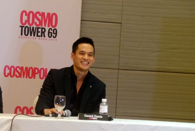 """That's Mr. Garcia to you"": Gerard Garcia (Formerly known as Gerard Sison) all set to make his debut Cosmo Bachelor Bash appearance"