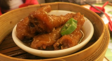 Steamed Chicken Feet with Black Bean Sauce