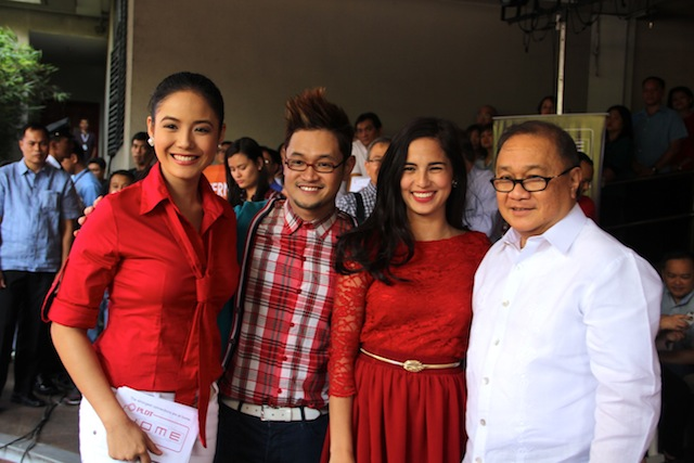 Kapatid stars in PLDT Home Launch 2014, Ritz Azul, Mr. Fu, and Jasmine Curtis-Smith together with MVP