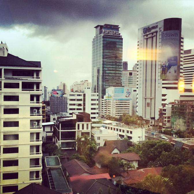 """Bangkok, Oriental Setting…"""