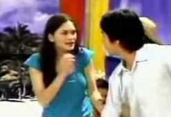 """Pia Romero"" as Piolo's Bora castmate"